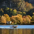 Autumn On The Lake by Massimo Battaglia