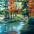 Autumn On The Lake by Valerie Bassett