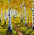 Autumn Path by Veikko Suikkanen