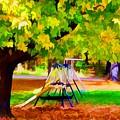 Autumn Playground 1 by Jeelan Clark
