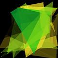 Autumn Polygon Pattern by Frank Ramspott