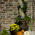 Autumn Porch Scene by Robert Kinser