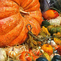Autumn - Pumpkin - All Of My Relatives by Mike Savad