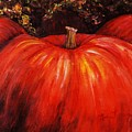 Autumn Pumpkins by Nadine Rippelmeyer