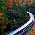 Autumn Rails by Doug Sturgess