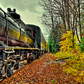 Autumn Railway by David Patterson
