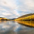 Autumn Reflection At Arrochar by Richard Burdon