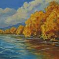 Autumn Reflections by Celeste Drewien