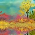 Autumn Reflections by David Lane