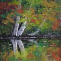 Autumn Reflections by Paula Ann Ford