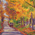 Autumn Ride by David Lloyd Glover