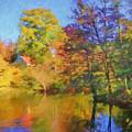 Autumn River by Lutz Baar