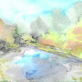 Autumn River by Yana Sadykova
