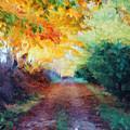 Autumn Road by Diane Alexander