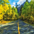 Autumn Road by Jonathan Nguyen