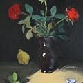 Autumn Rose by Bela Csaszar