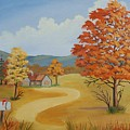 Autumn Season by Ruth  Housley