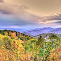Autumn Splendor In The Smokies by Don Mercer