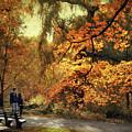 Autumn Splendor Promenade by Jessica Jenney