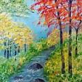 Autumn Stream by Sonya Nancy Capling-Bacle