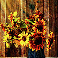 Autumn Sunflowers by Jeff Folger
