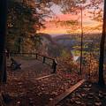 Autumn Sunrise by Dustin Schwartzmeyer