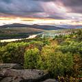 Autumn Sunset In The Catskills by Ryan Kirschner