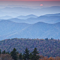 Autumn Sunset On The Parkway by Rob Travis