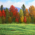 Autumn Trees by Frank Wilson