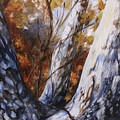 Autumn Trees by Laura Ury