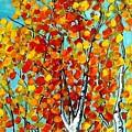 Autumn Trees by Vesna Antic