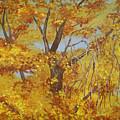 Autumn Treetops by Wanda Pepin