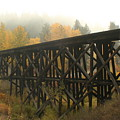 Autumn Trestle by Idaho Scenic Images Linda Lantzy