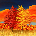 Autumn Twins by Joseph Finchum