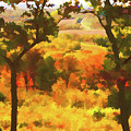 Autumn View, Montelle Winery, Augusta, Missouri by Lila Bahl
