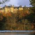 Autumn View Of The Biltmore by Melissa Farlow