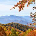 Autumn View Of The Smokies by Alan Lenk