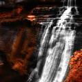Autumn Waterfall 3 by Kenneth Krolikowski