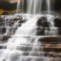 Autumn Waterfall II by Kenneth Krolikowski