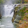 Autumn Waterfall by Jeffrey Herzog