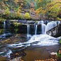 Autumn Waterfall by Steve Stuller