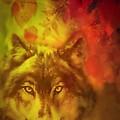 Autumn Wolf by Maria Urso