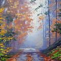 Autumn Woods by Graham Gercken