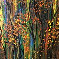 Autumn Woods by Lorilee Dodson