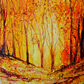 Autumn Woods by Ruth Harris