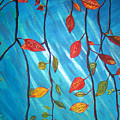 Autumnleaves by Necia Nash