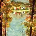 Autumn's Peaceful Abode  by Karen Ann