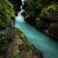 Avalanche Creek by Rick Strobaugh