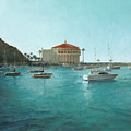 Avalon Harbor Afternoon by Laura Wynne