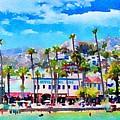 Avalon Waterfront, Catalina by Karen Dickel